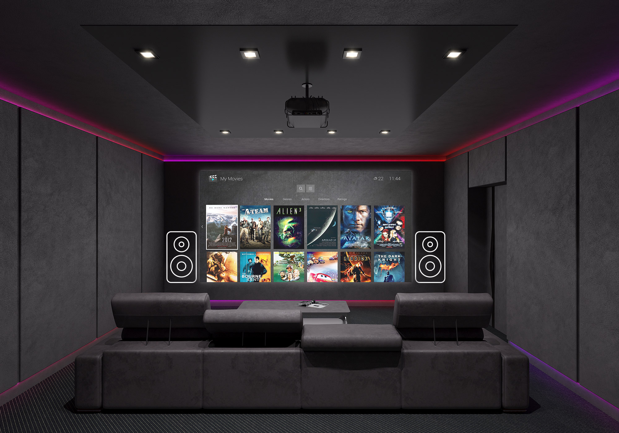 solution home theater