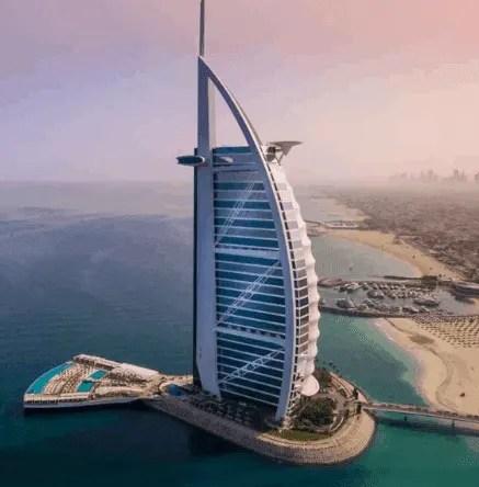 Burj Al-Arab-Cost of Dubai Visa in Nigeria-2020