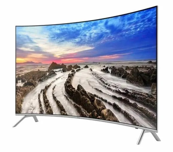 """Samsung 8 Series 65"""" curved LED TV"""