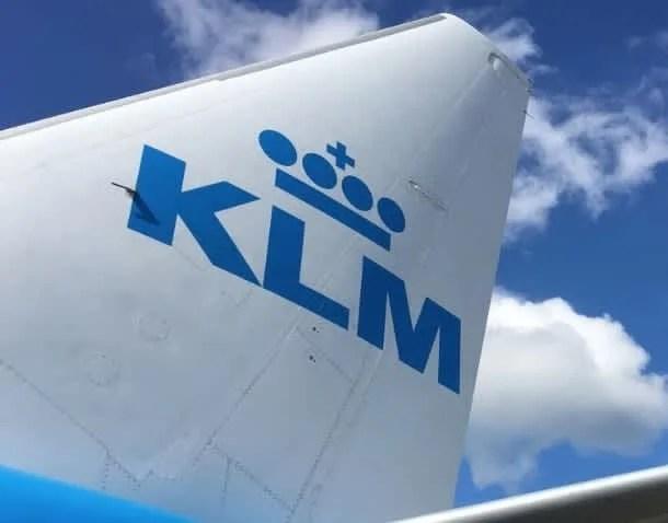 KLM-KLM Flight Booking
