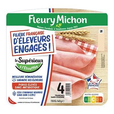 Bons De Reduction Gratuits Fleury Michon Jambon Le Superieur Filiere Francaise D Eleveurs Engages A Selectionner Coupon Network