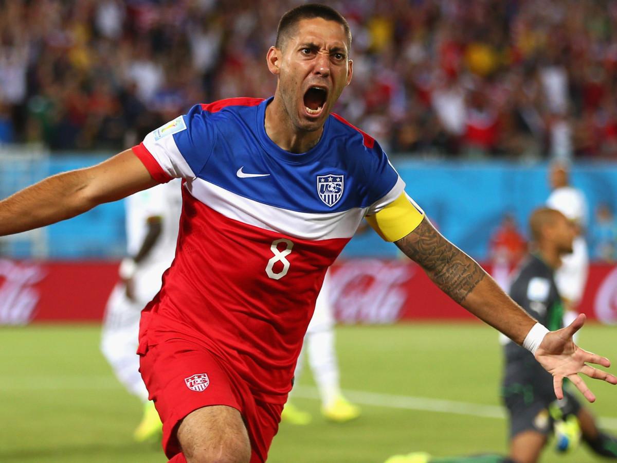 Image result for us men's soccer celebration