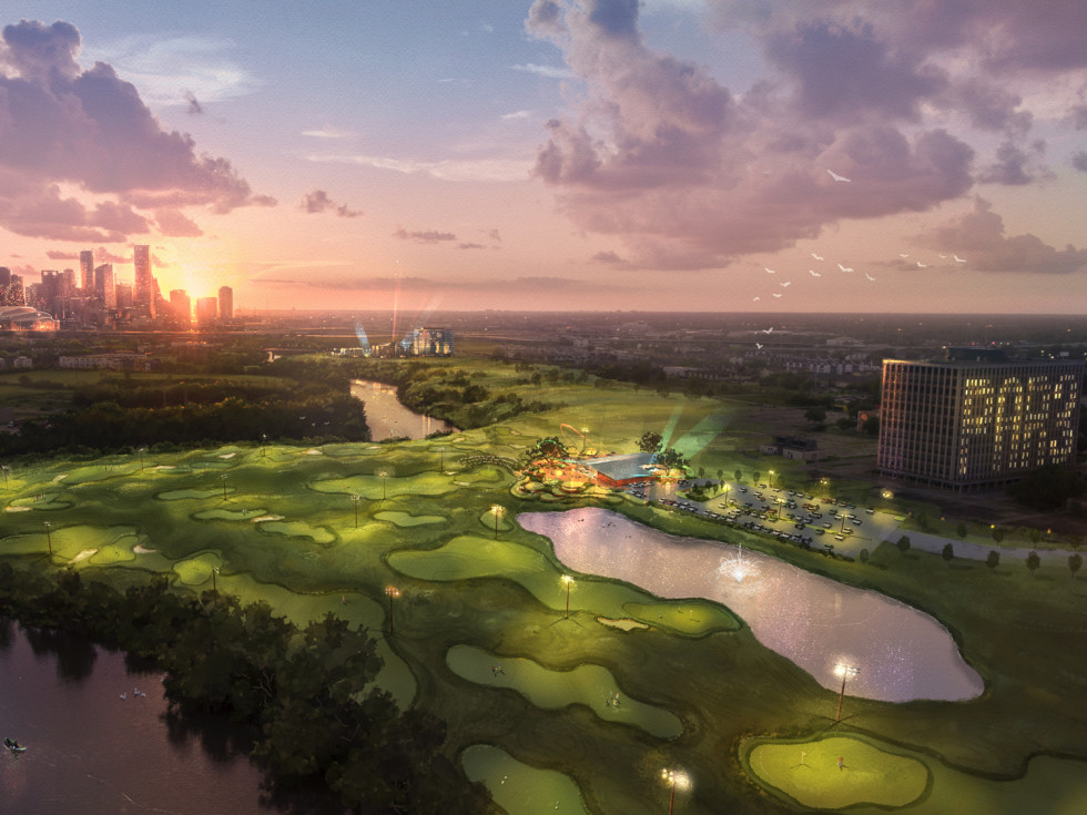 Game-changing Fifth Ward waterfront mixed-use development tees up new golf course and restaurant