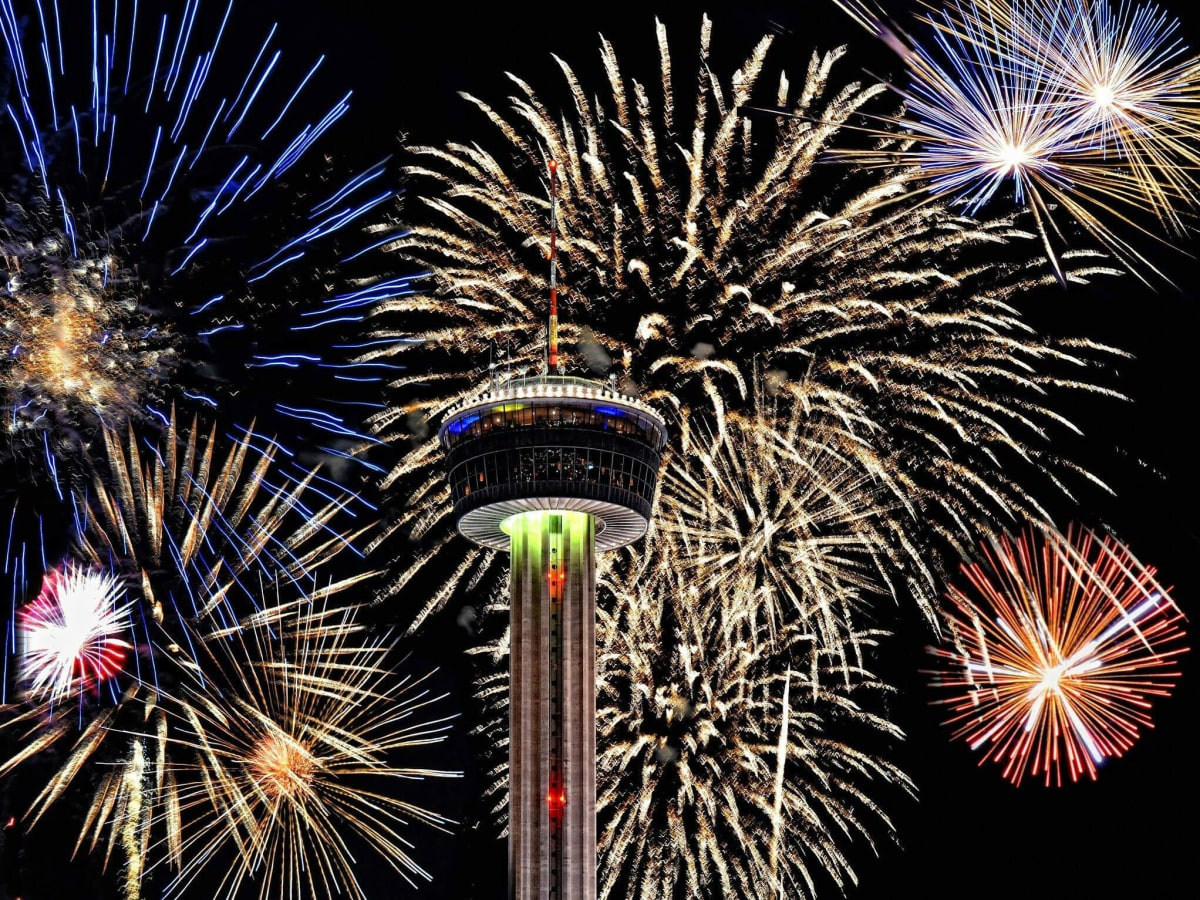 Your guide to the 10 best New Year s Eve parties in San Antonio     San Antonio fireworks Tower of the Americas fourth july independence day new  years eve