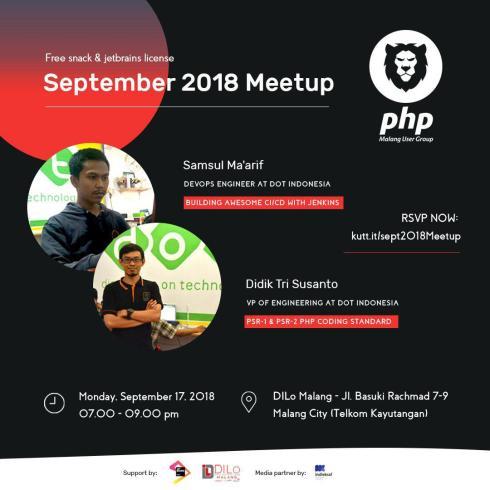Meetup PHP Malang September : Jetlins dan PHP Coding Standard
