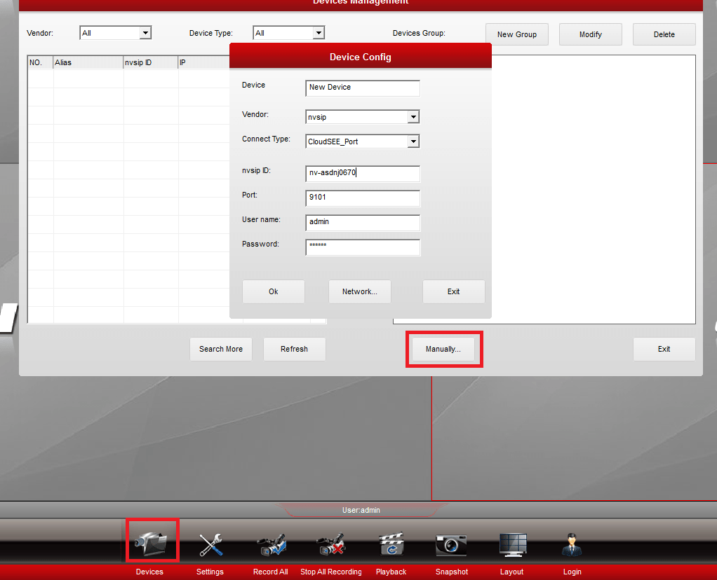 NVSIP for Windows