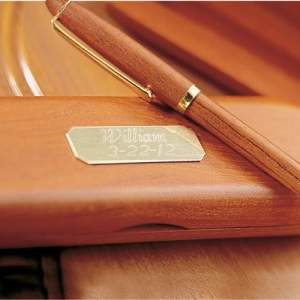 Personalized-Genuine-Rosewood-Pen-Case