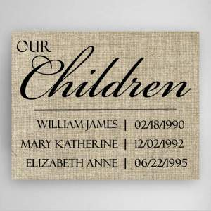 personalized-our-children-canvas-sign-1