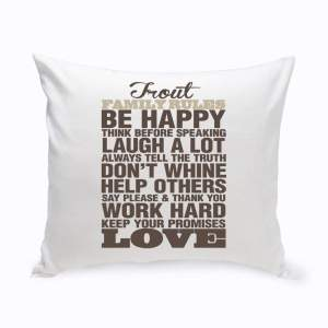 rustic-family-rules-throw-pillow-1