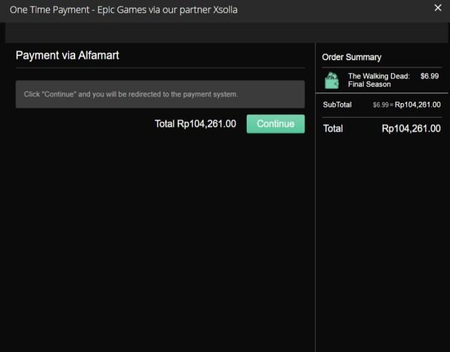 Membeli Game Di Epic Games Store