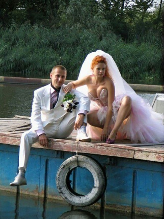 35 Crazy Af Russian Wedding Photos Joyenergizer