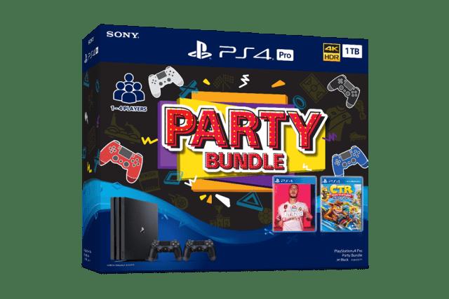 PlayStation 4 Party Bundles & Mega Pack