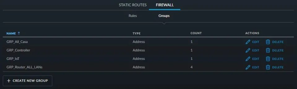 Unifi Firewall Groups