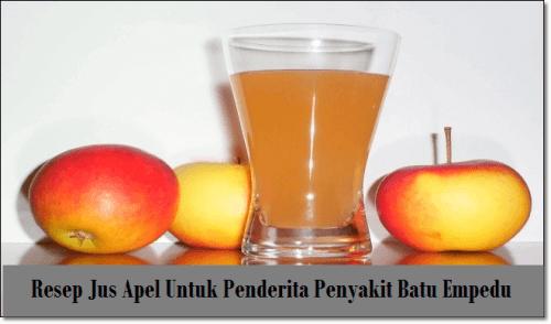 Manfaat Cuka Apel Untuk Batu Empedu