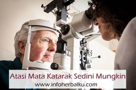 Obat Mengatasi Mata Katarak Tanpa Operasi