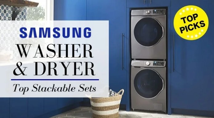 Samsung Stackable Washer And Dryer Top 5 Samsung Front Load Washers Reviewed