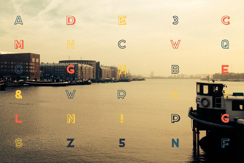 Акцидентный шрифт с кириллицей Docker