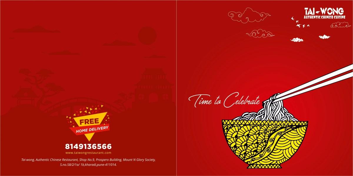 Menu Card Design For Chinese Restaurant