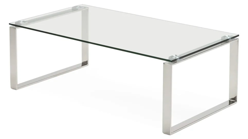 table basse design plateau verre vega delorm design