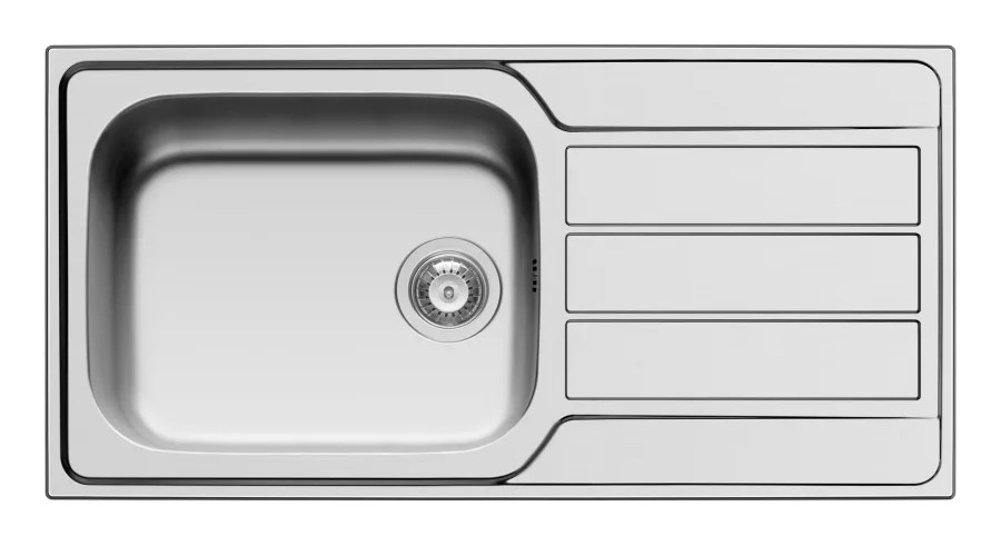 athena 1 0 bowl stainless steel sink