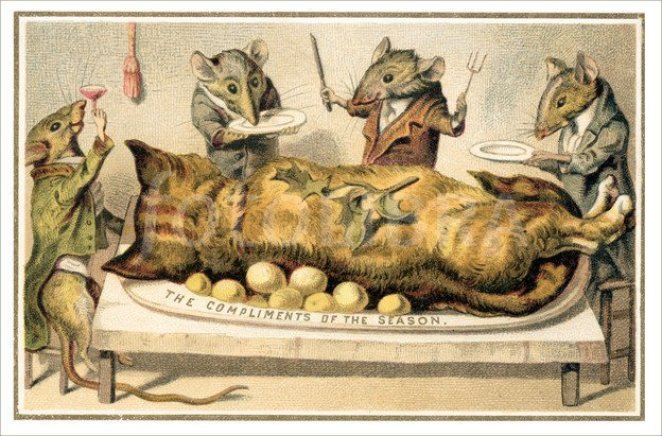 Image result for creepy victorian christmas cards