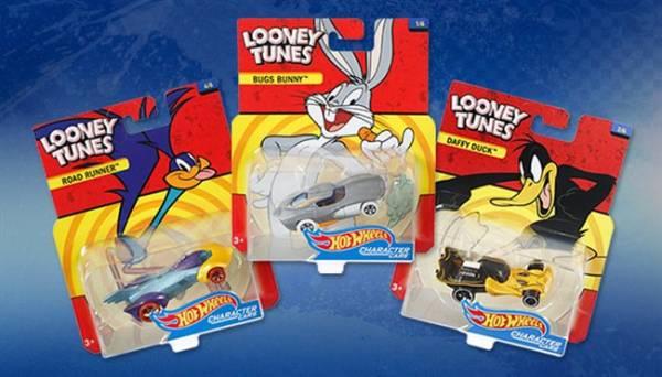 Six New Hot Wheels Looney Tunes™ Character Cars!