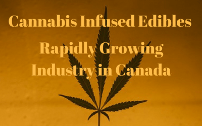Cannabis Infused Edibles – Rapidly Growing Industry in Canada