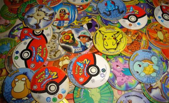 Tazos Pokemon - Mainan Anak dari Kartun Jepang