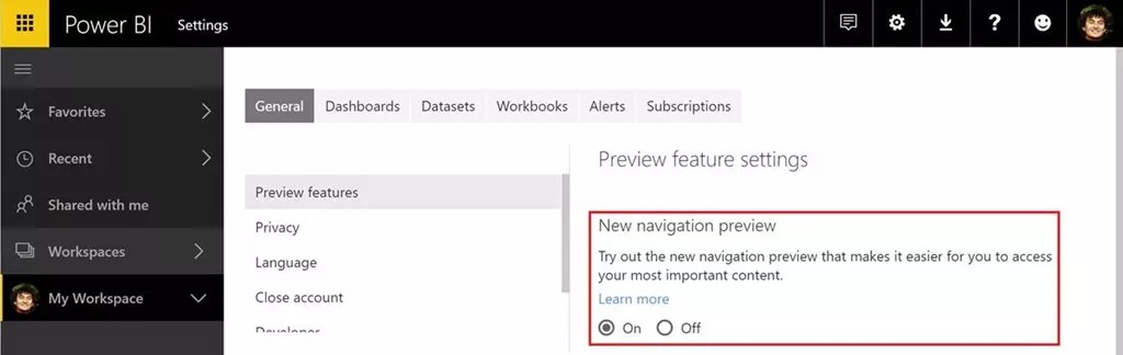 View Related Content Pane Power BI service