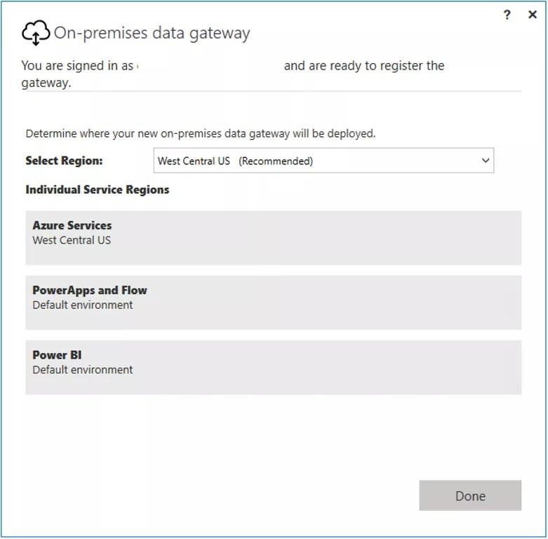 On-premises data gateway in Azure