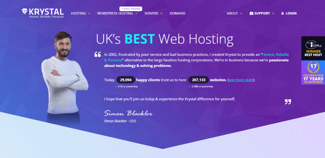 10 Best Web Hosting Website Designs in 2020 7