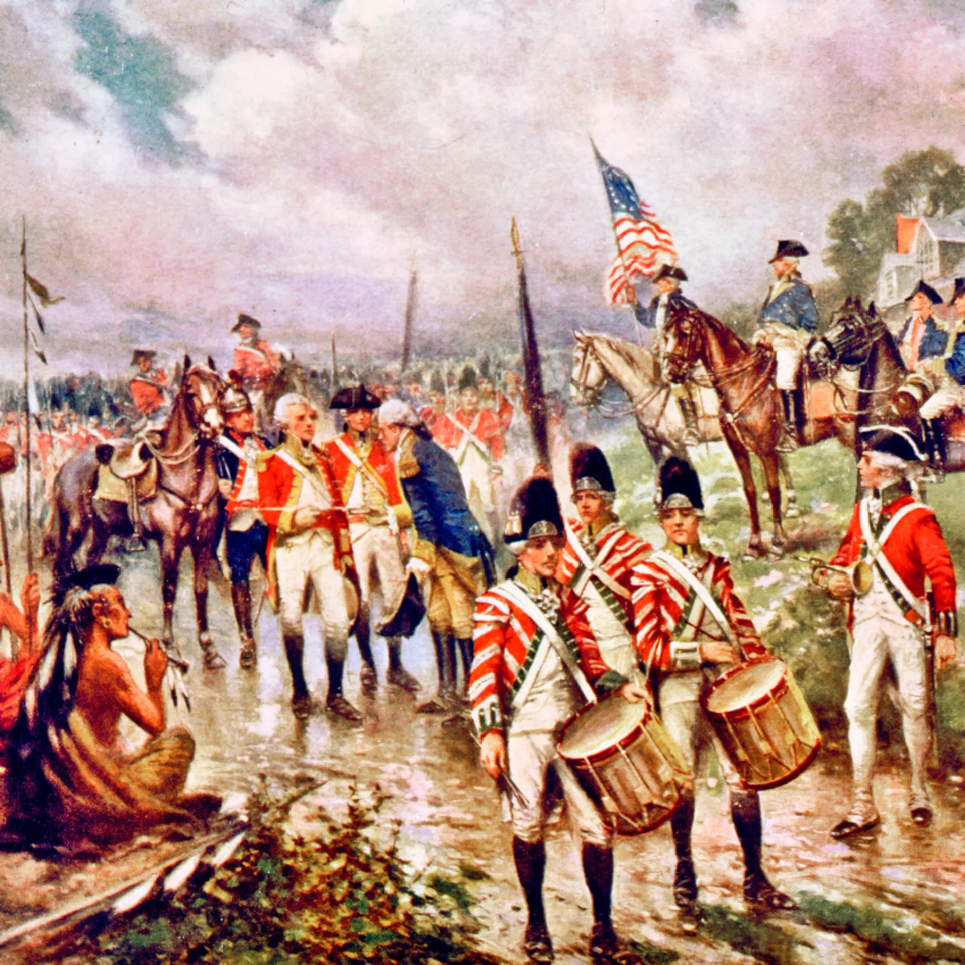 Turning Point Of American Revolution Determined At The