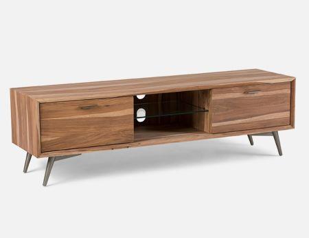 meuble tele en bois de rose indien