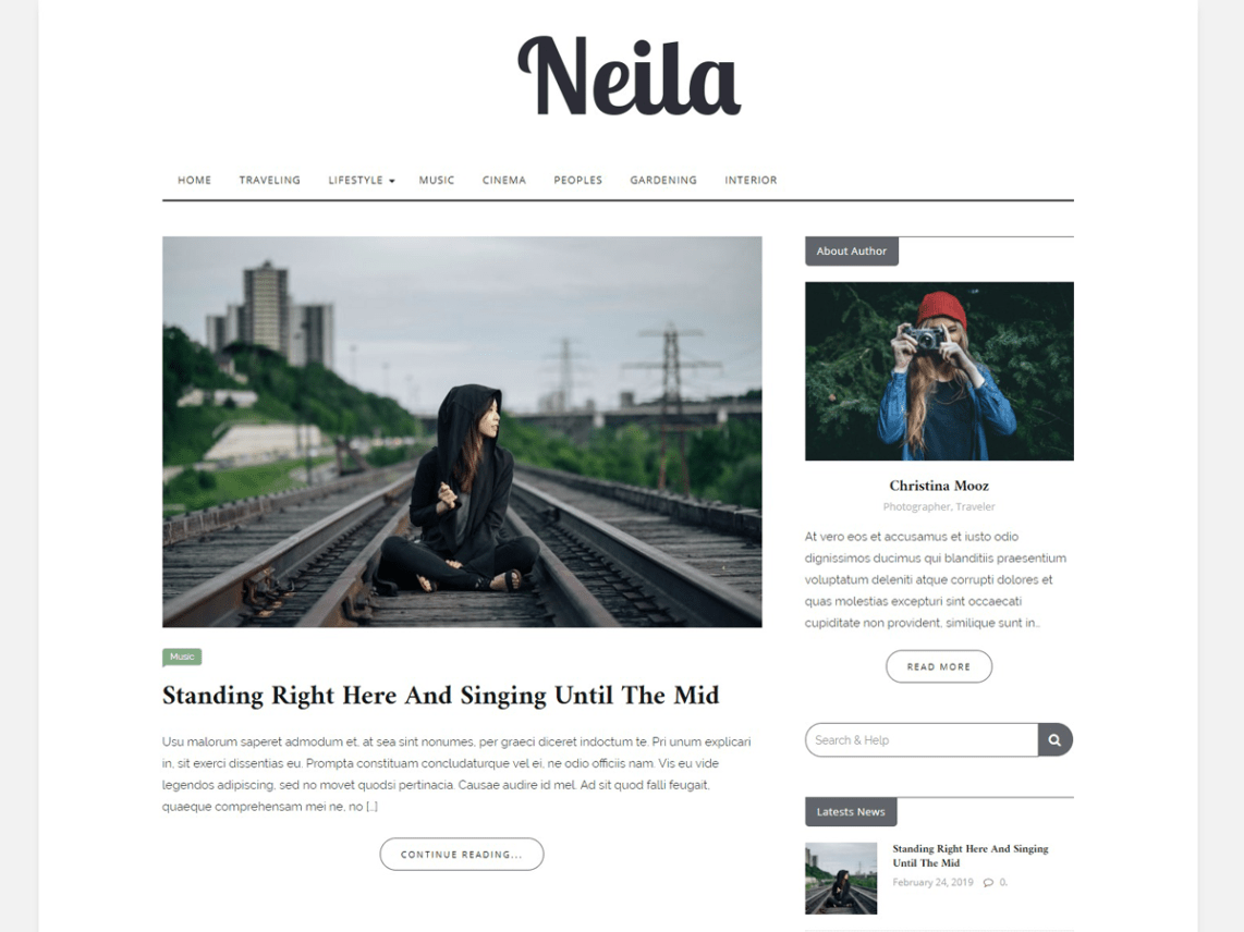 Neila WordPress Theme
