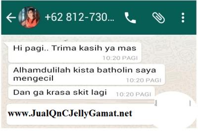Cara Mengobati Kista Dengan QnC Jelly Gamat