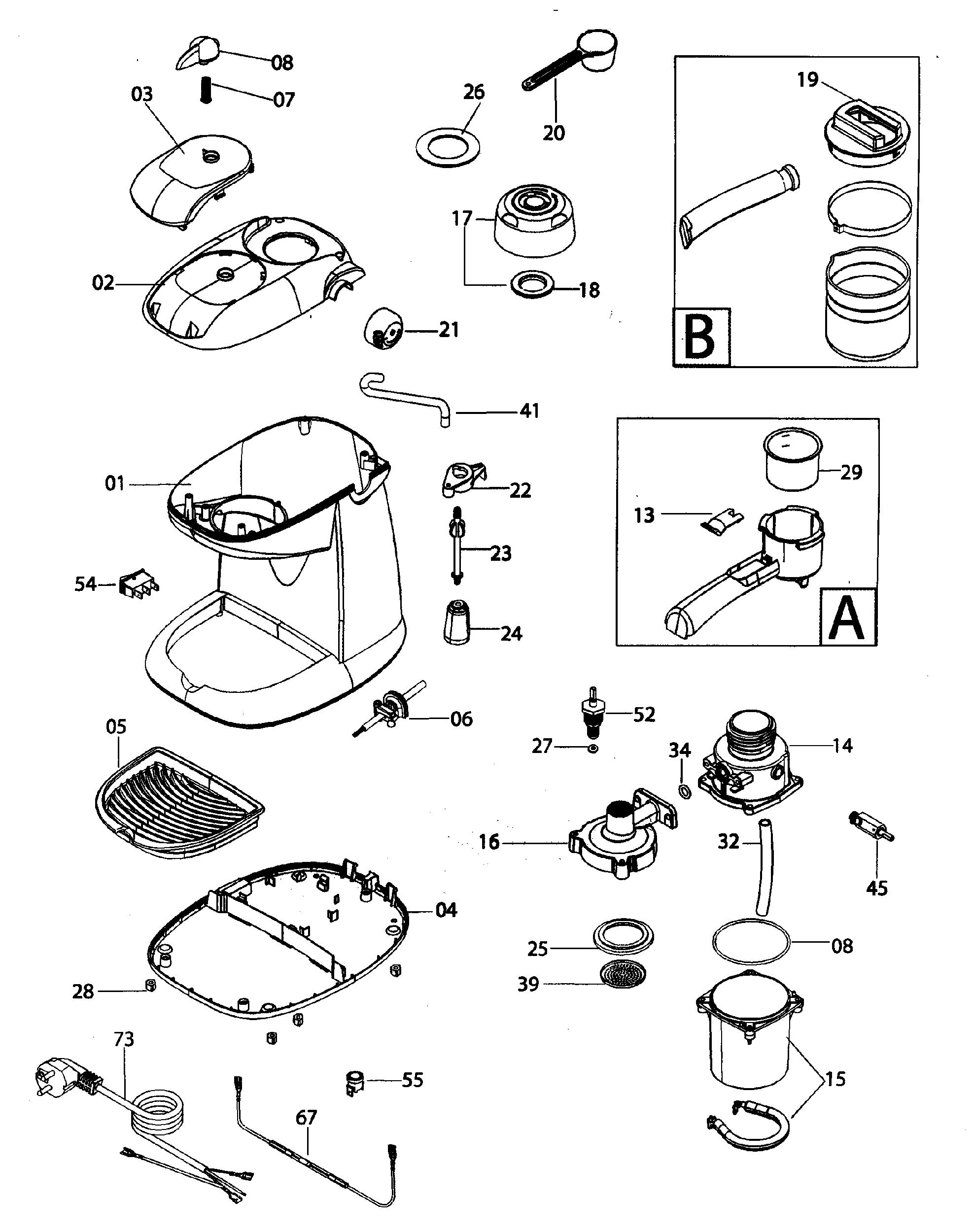 Delonghi Spare Parts