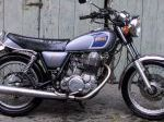 The Yamaha SR500, the classic big single street bike