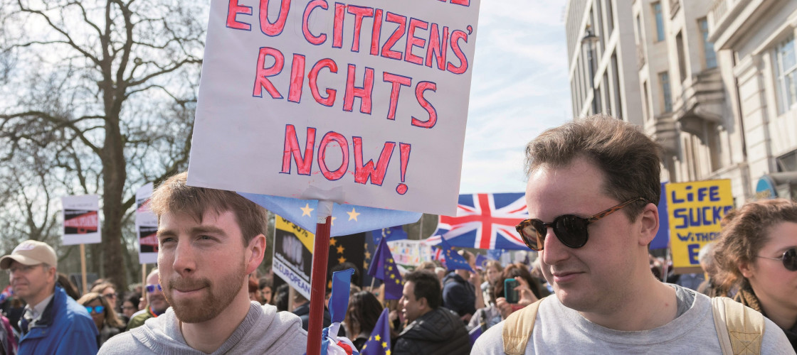 Campaigners calling for EU citizens' rights to be guaranteed immediately