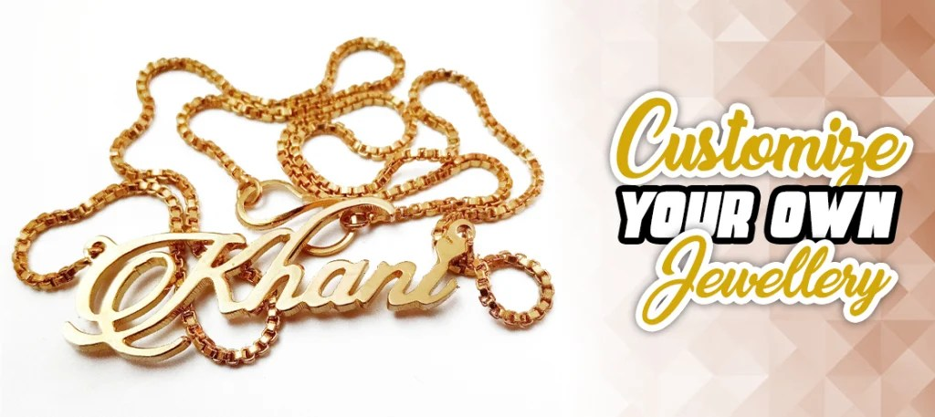 Best Customize Name Personalized Jewellery in Pakistan