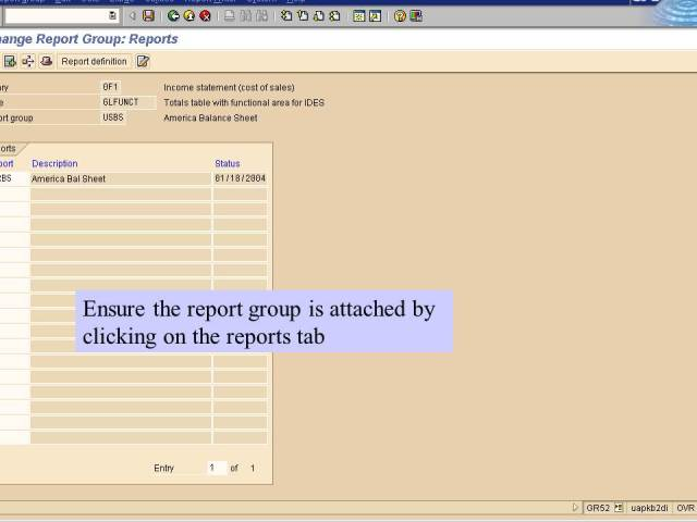 22. report group