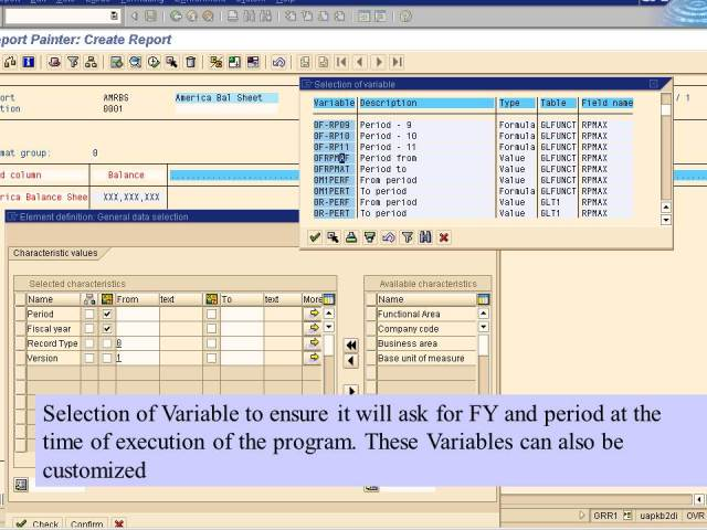 12. select variable