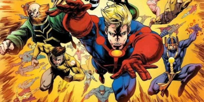 Upcoming Movies from marvel The Eternals