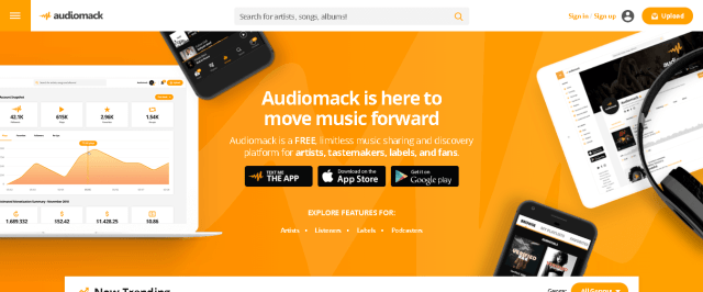 Download free music| Audiomack