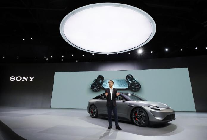 Sony Vision -S  Car