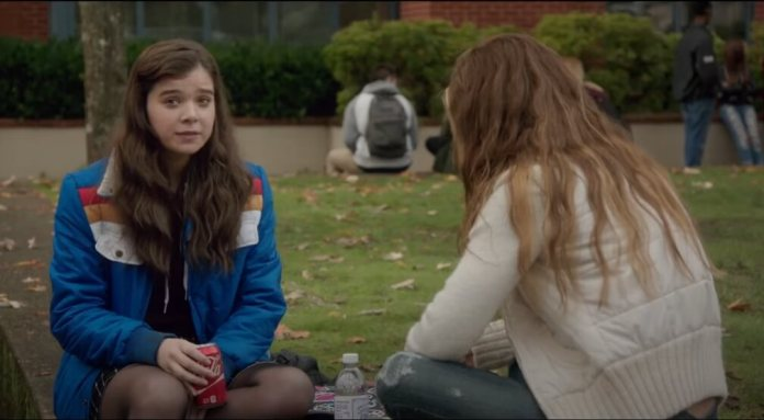 The Edge of Seventeen (2016)  (best comedy movies on netflix)