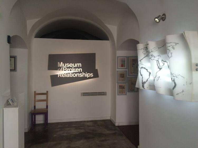 Museum of Broken Relationships in Zagreb - Entrance