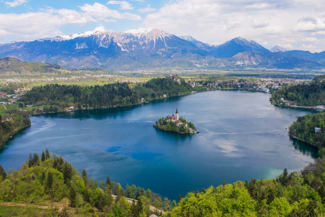 Best view of Lake Bled
