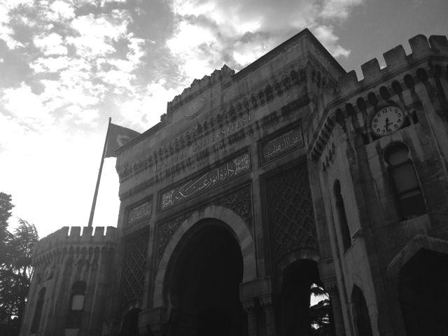 Istanbul University Black and White photos