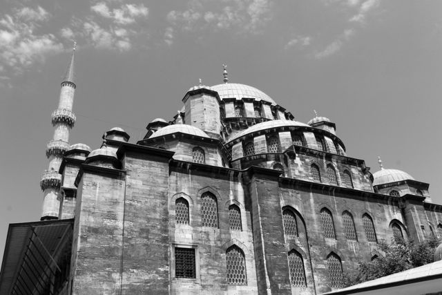 Istanbul Black and White photos