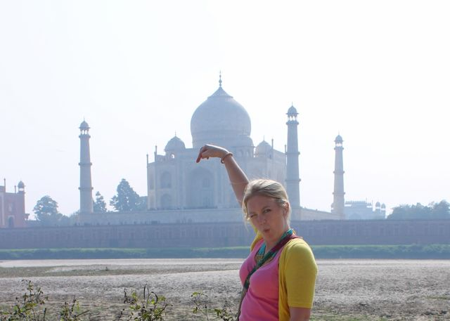 Taj mahal photo fail